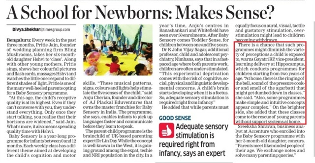 A School for Newborns Makes Sense_The Economic Times_15 December 2015.jpg